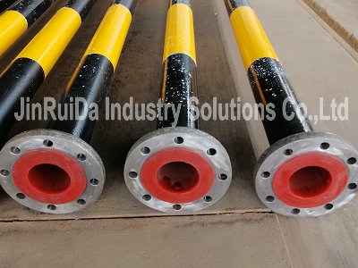 Polyurethane Lined A53 Carbon Steel Pipe ( Urethane & PU )